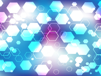 Light Hexagon Background