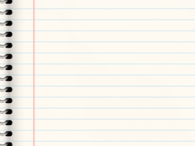 Lined Paper Texture Background