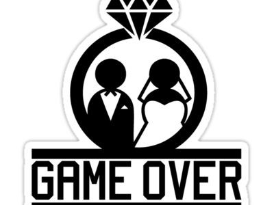 Marriage Game Over Png