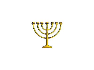 Gold Menorahs Pic Png
