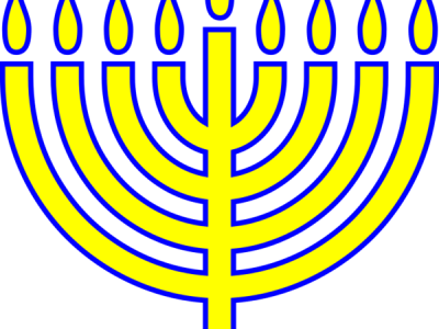 Menorahs Yellow Png