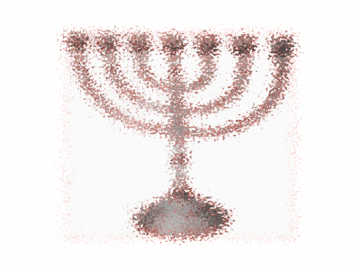 Blurry Menorahs Png