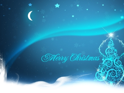 Merry Christmas Blue Background Images