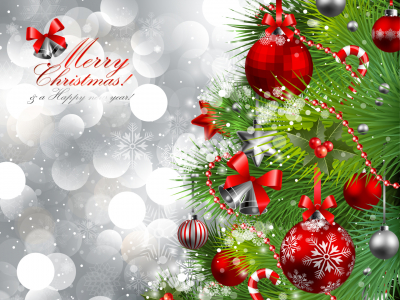 Merry Christmas Card Background