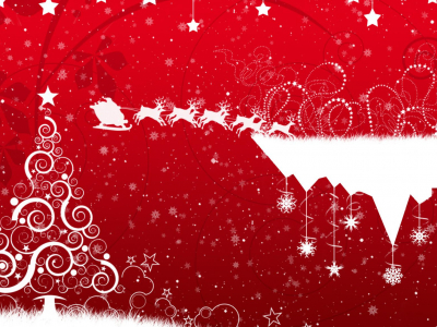 Merry Christmas Clipart Background