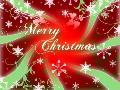 Merry Christmas Romantic Background
