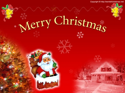 Merry Christmas Snowman Card Background