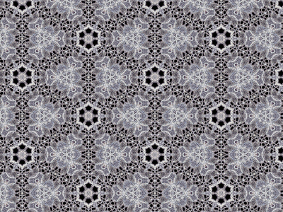 metal silver white black lace fabric background  #15043