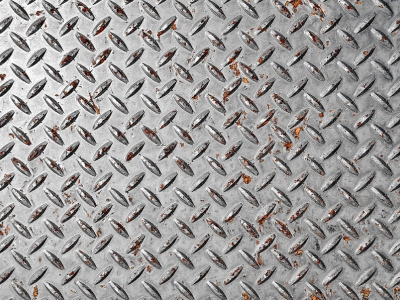 Metalic Diamond Plate Background