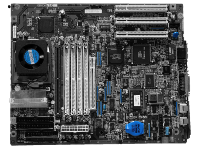 Motherboard No Background Blue Pictures