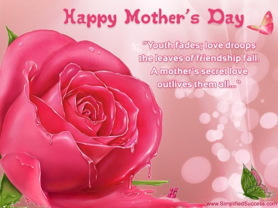 Mothers Day Flowers Background