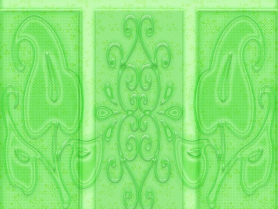 Mozaic Light Green Pattern Background