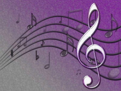 High-quality Music Notes Background