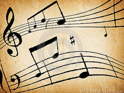 Music Notes Background Transparant