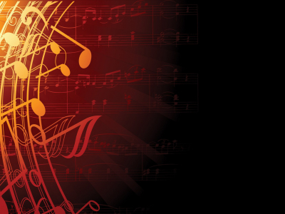 music notes background wallpaper #2607