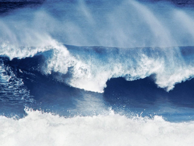Natural Big Wave Wallpaper
