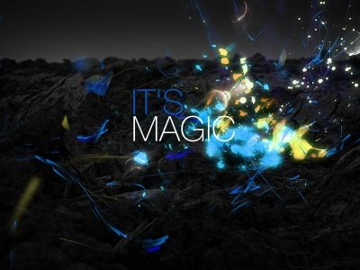 Natural Dark Magic Background