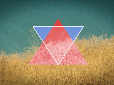 Natural Triangle Hd Wallpaper