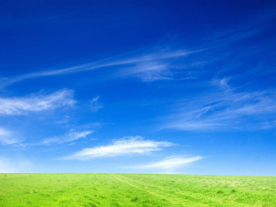 Nature And Blue Sky Wallpaper