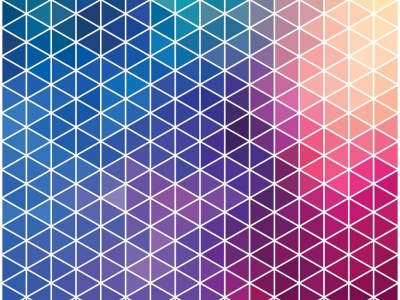 Neon Pattern Background Blue Pattern Red