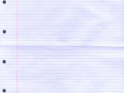 New Lined Paper Background