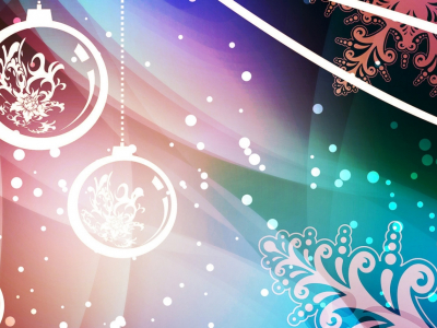 New Year Abstraction Dual Monitor Resolution Hd Background