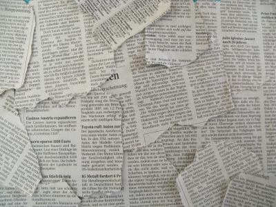Newspapers, Newspaper Texture, Background
