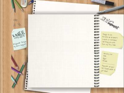 Background Free Notebook
