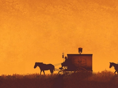 Old West Background Photo