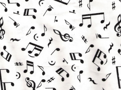 Old Words Music Note Wallpaper