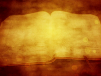 open bible vintage religious motion background #14867