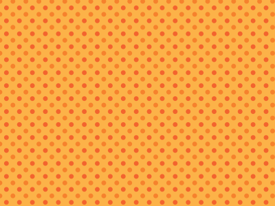 Orange Background Pattern Dots