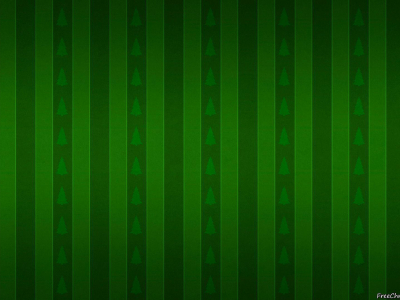 Organic Green Christmas Background