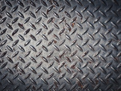 Pale Color Diamond Plate Wallpaper