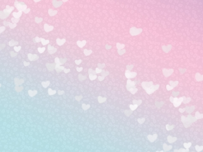 pastel pink blue ombre mini hearts background #15884