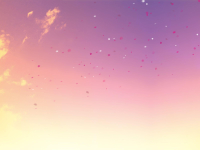 Pastel Sky Face Background