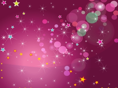 Pink Celebration Background