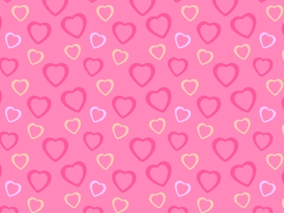 pink heart background #1156