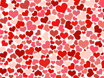 pink heart patterns background #1138