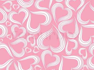 Pink Red Pattern Heart Background