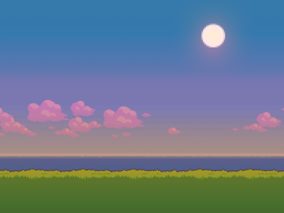 Pixel Nature Wallpaper
