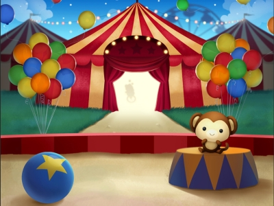 Popular Circus Background
