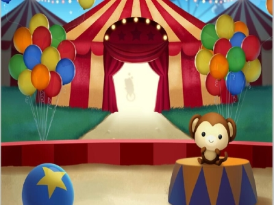 Popular Circus Carnival Background
