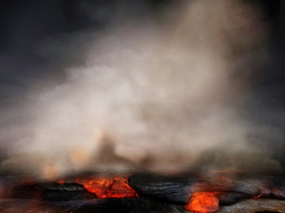 Premade Hell Background