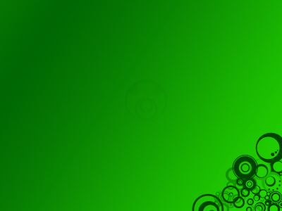 Printed Green Background