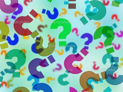 question mark colorfull wallpaper #13781