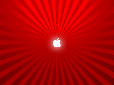 Red And Apple Background