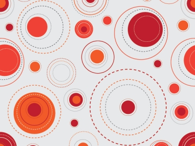 red background pattern dots #873