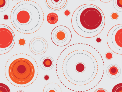 Red Background Pattern Dots