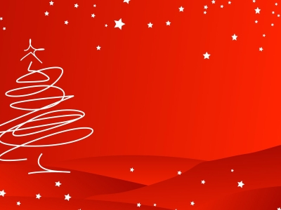 red christmas background photo #12453